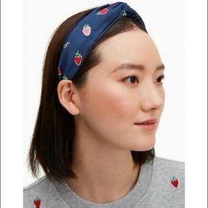 Kate Spade New York Wild Strawberries Headband NWT